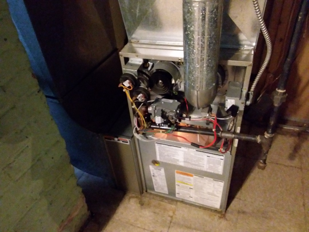 Maywood, IL - Cleaned and checked furnace