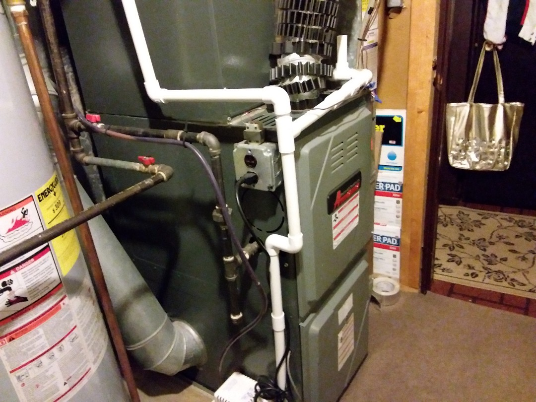 Hanover Park, IL - Cleaned and checked furnace