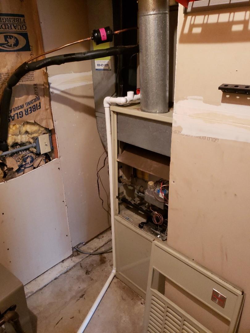 Matteson, IL - Replacing Bryant furnace