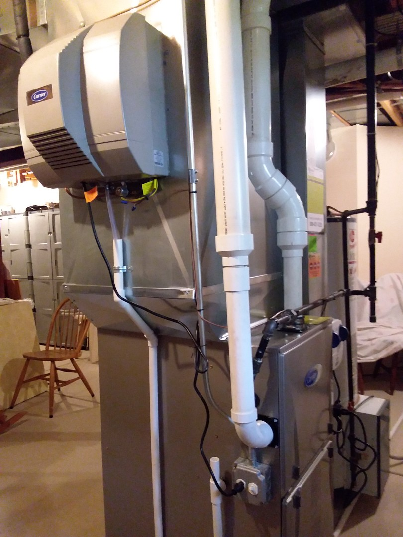 Wheaton, IL - Cleaned and checked furnace and humidifier