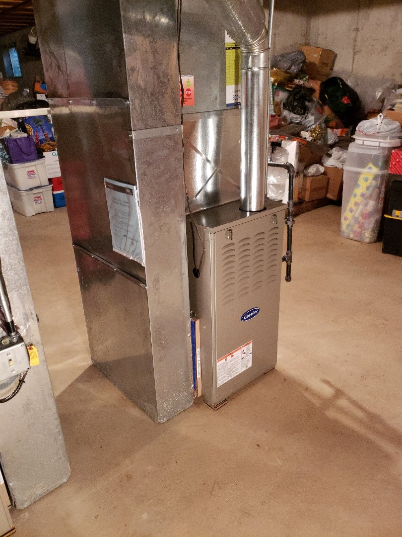 Midlothian, IL - Carrier furnace installation