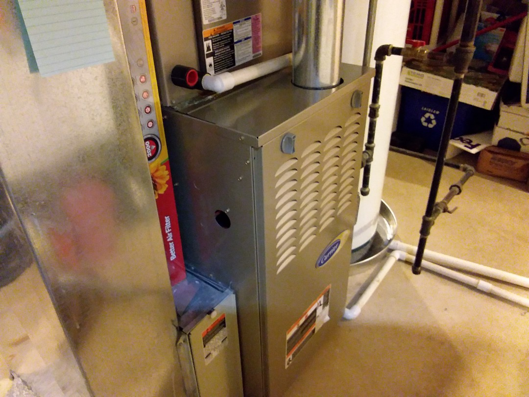 Streamwood, IL - Cleaned and checked furnace