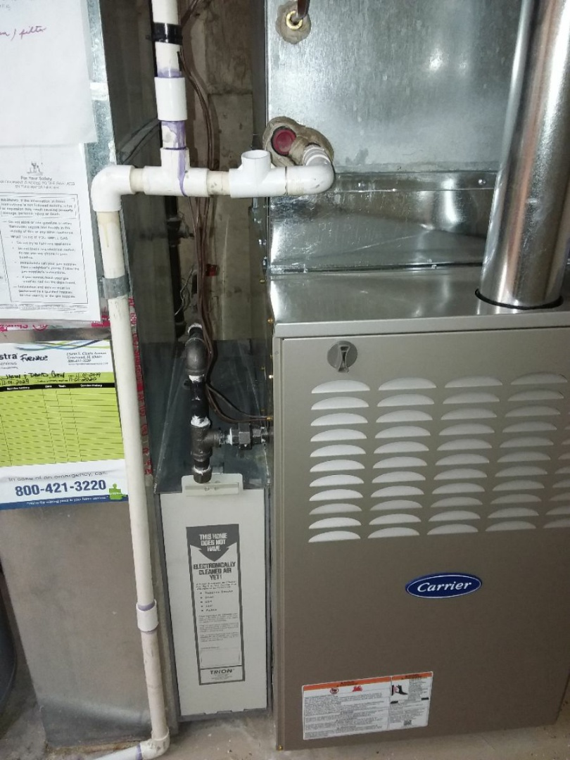 Glen Ellyn, IL - Furnace changeout