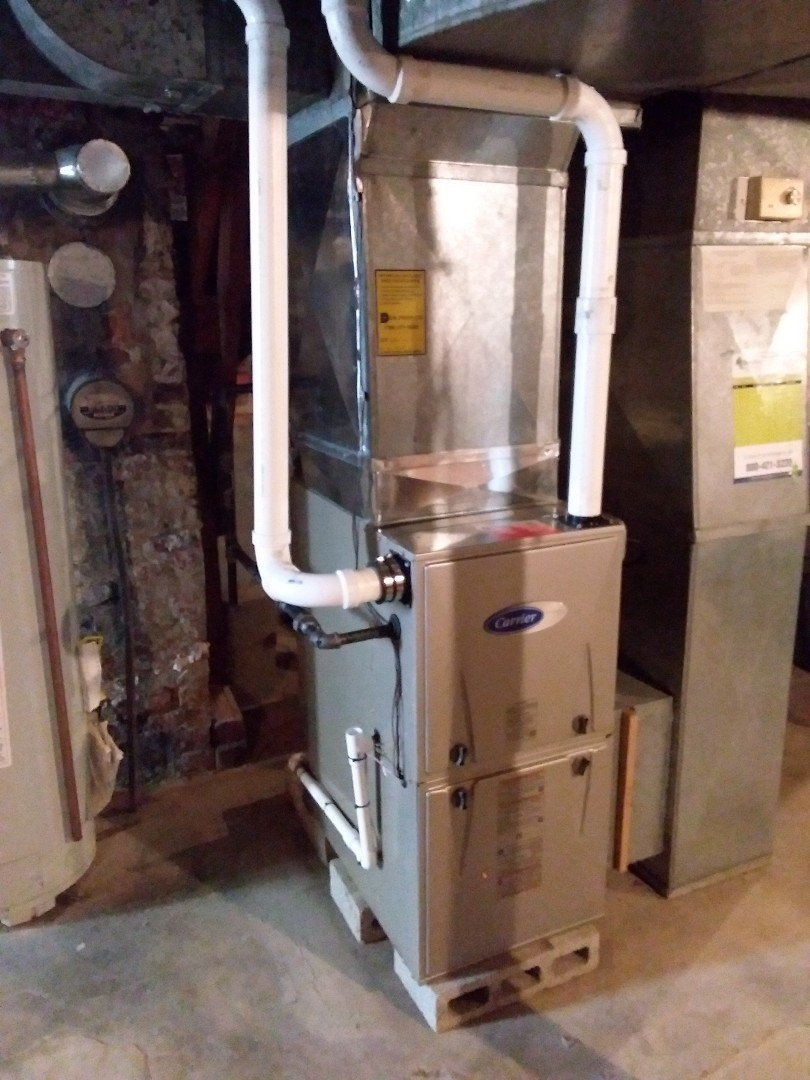 Chicago, IL - Install of a carrier furnace