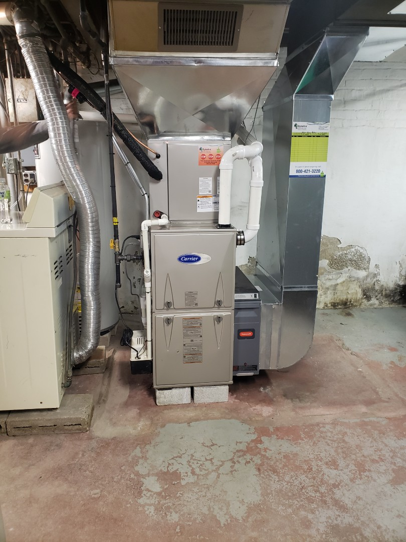 Chicago, IL - Carriers furnace and air conditioner installation