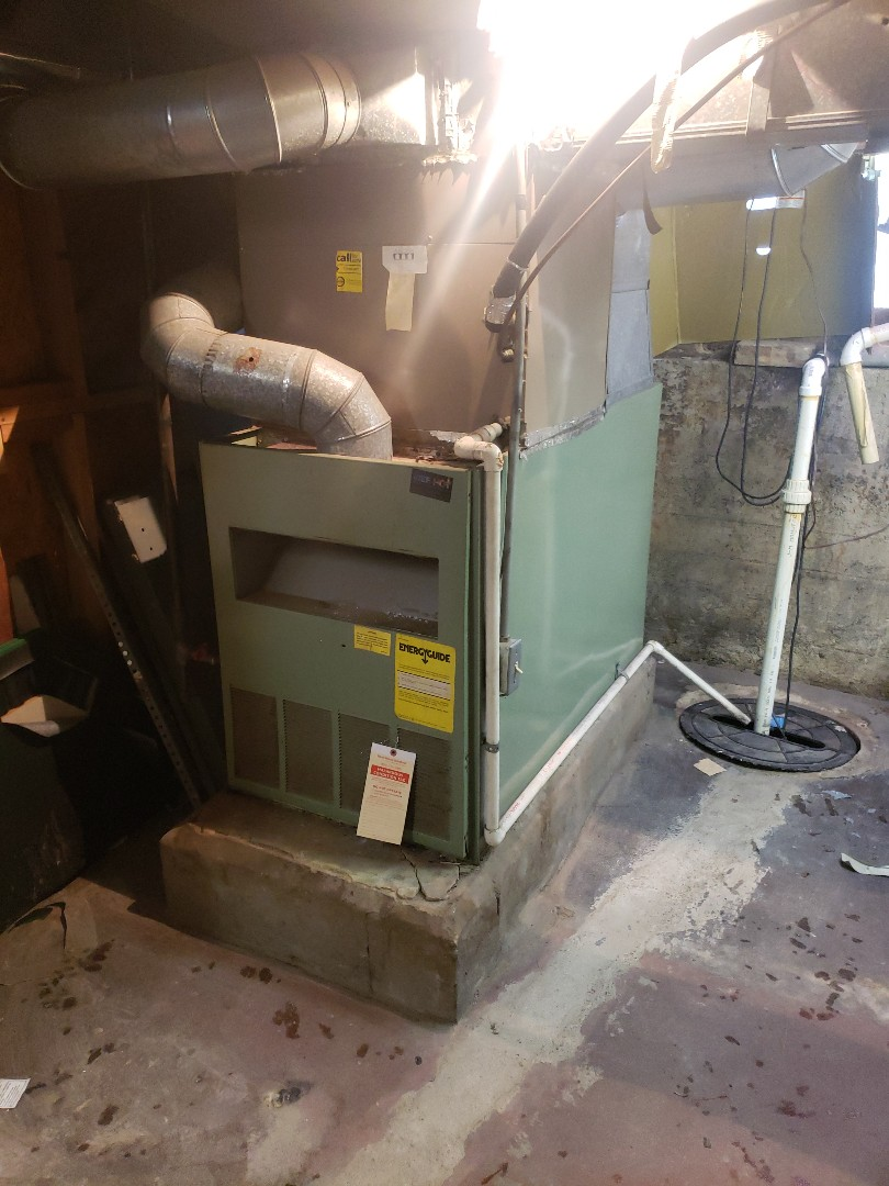 Lansing, IL - Carrier furnace installation