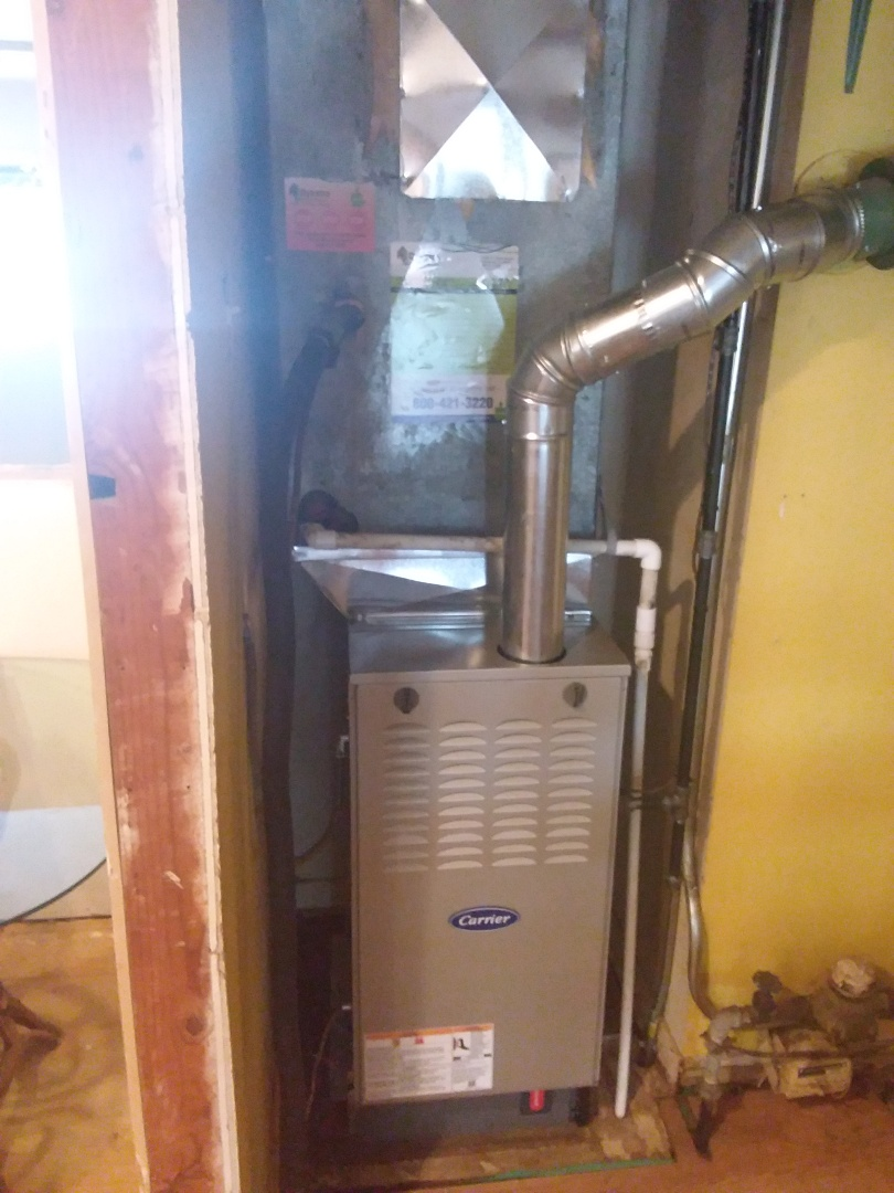 Palos Heights, IL - Install of a carrier furnace