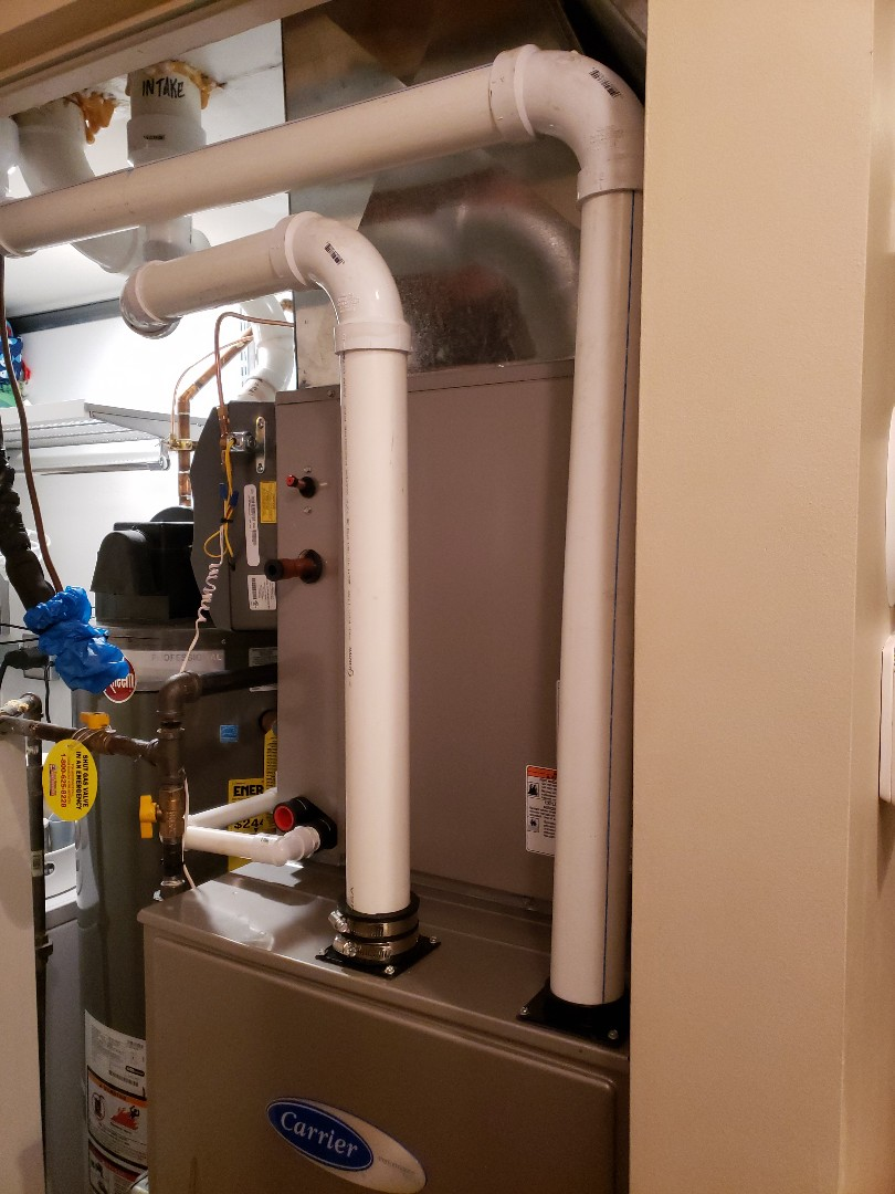 Chicago, IL - Carrier furnace and air conditioner installation