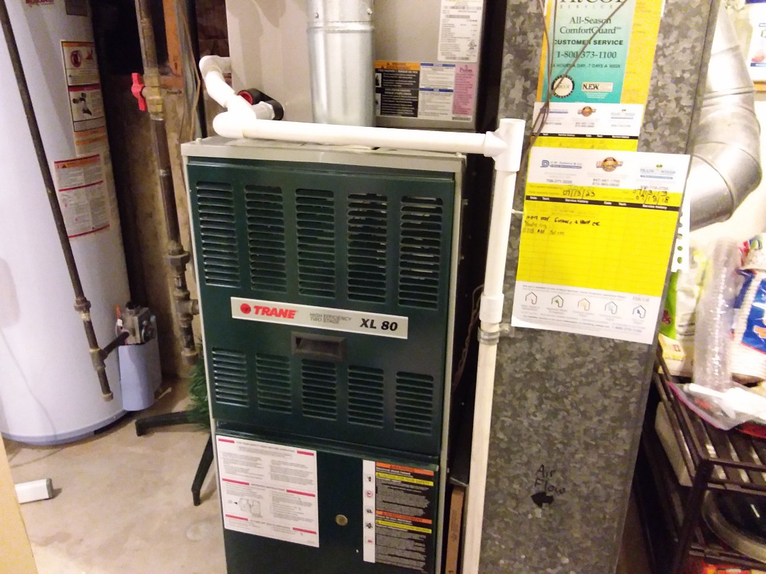 Addison, IL - Cleaned and checked furnace