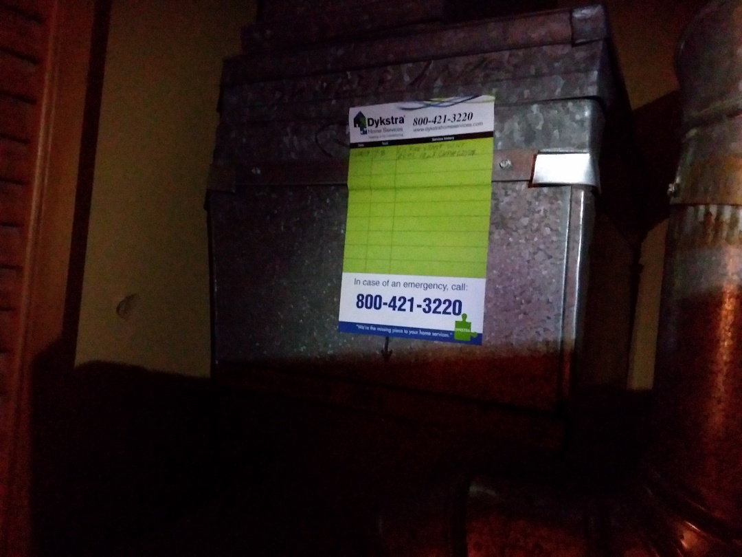 Schaumburg, IL - Cleaned and checked furnace