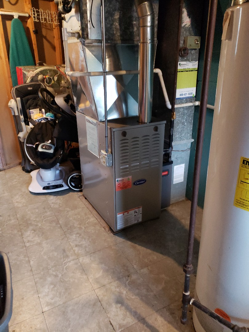 Chicago Heights, IL - Carrier furnace installation