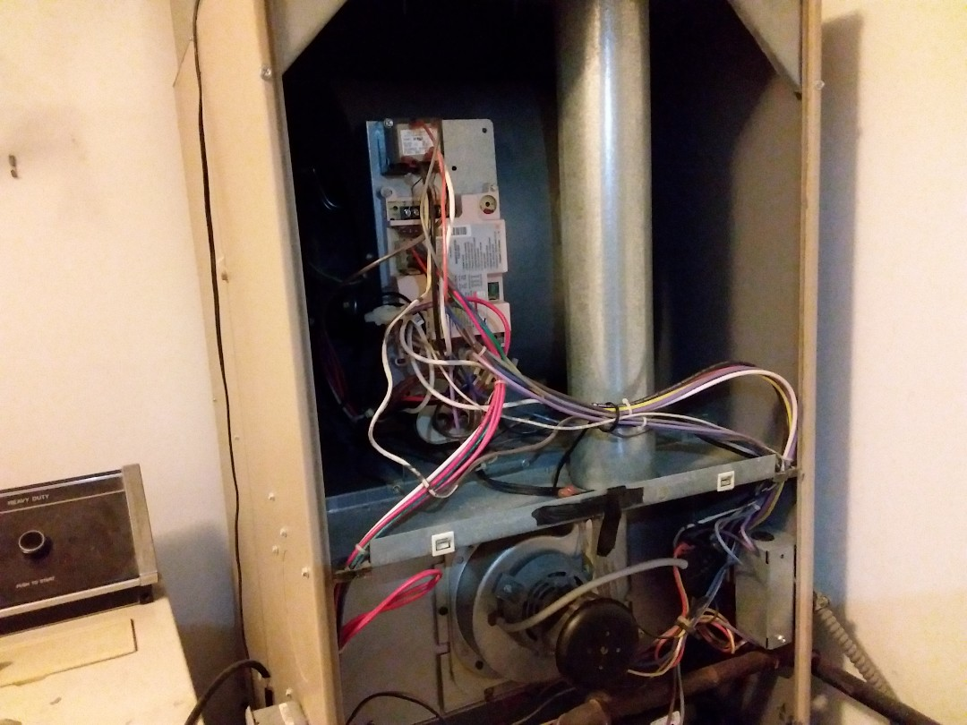 Carol Stream, IL - Cleaned and checked furnace