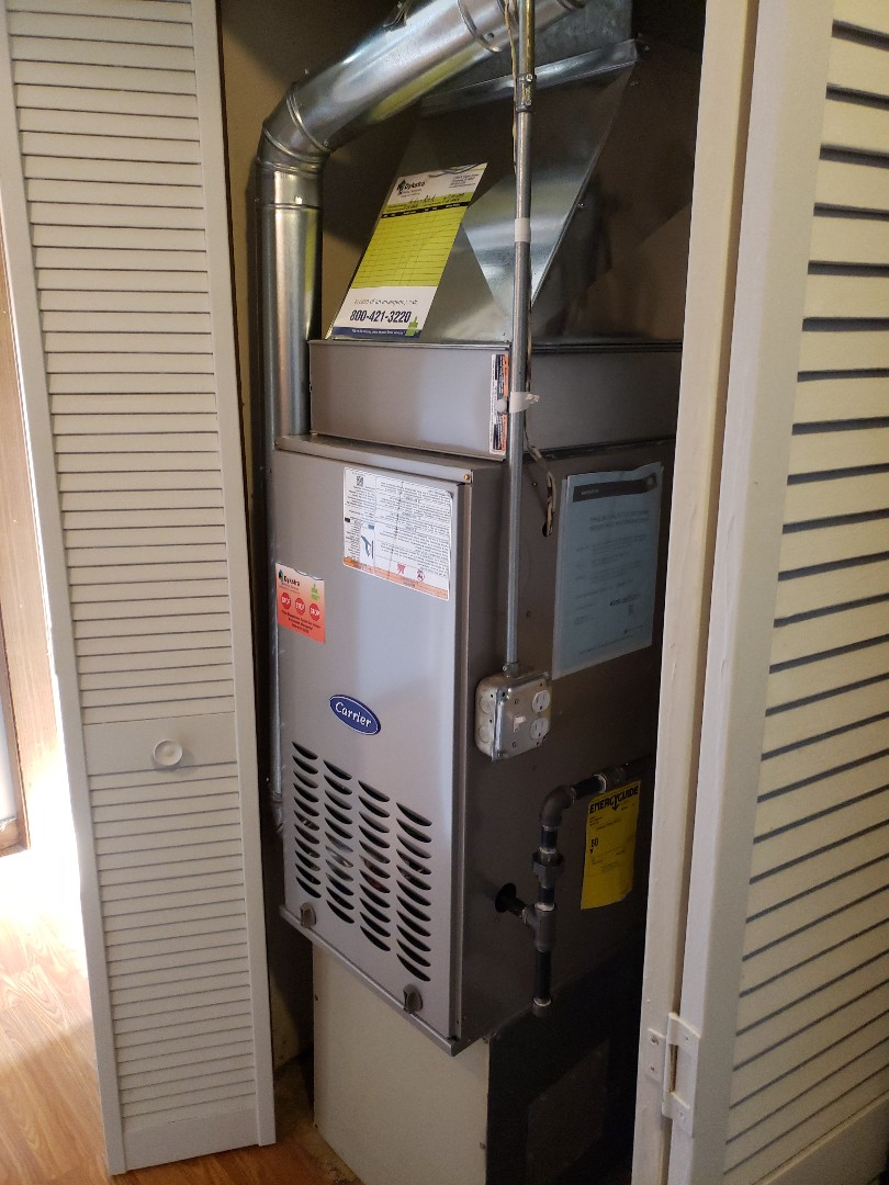 Matteson, IL - Carrier furnace installation