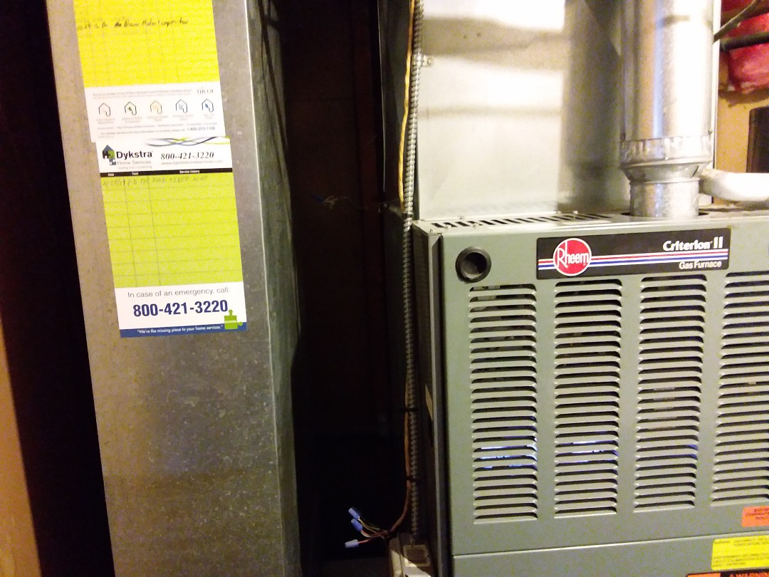 Glendale Heights, IL - Cleaned and checked furnace