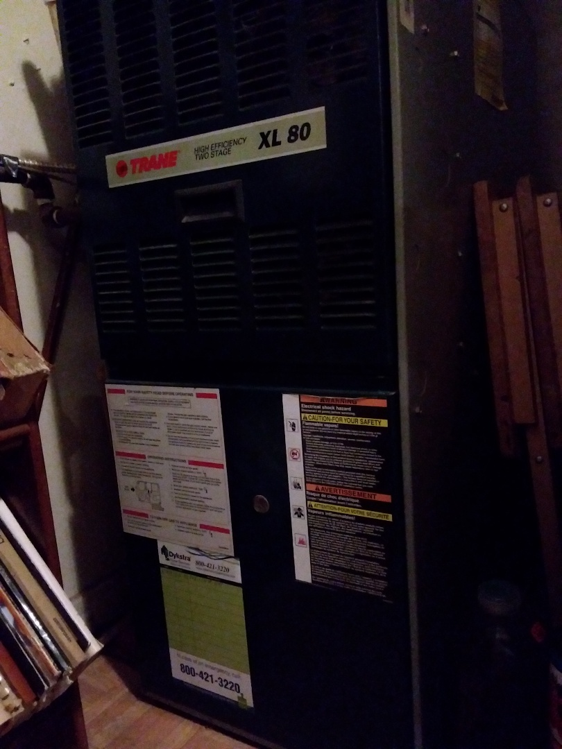 Glen Ellyn, IL - Cleaned and checked furnace