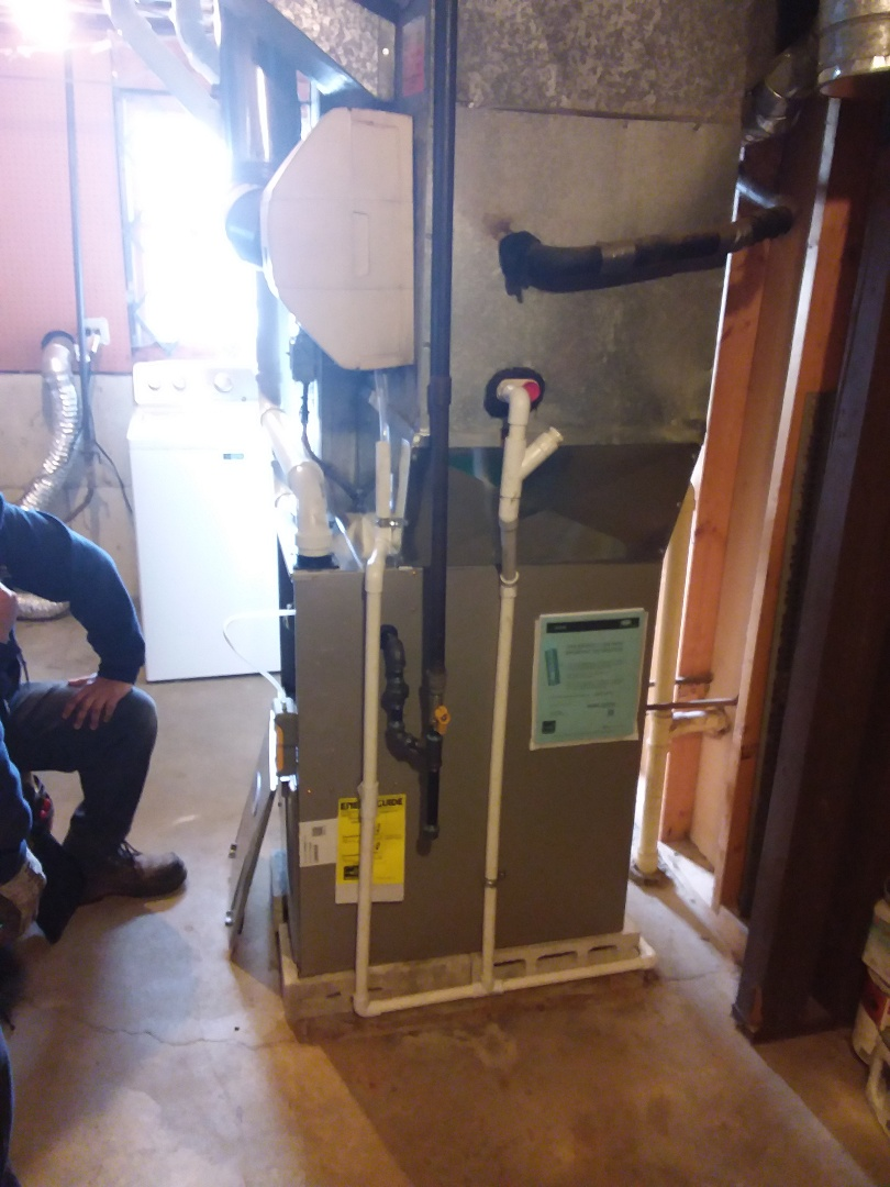 South Holland, IL - Install of a carrier furnace