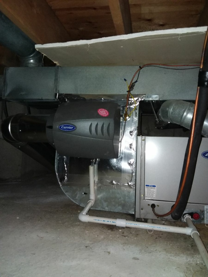 Tinley Park, IL - Humidifier install