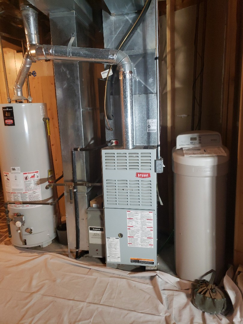 Monee, IL - Carrier furnace installation