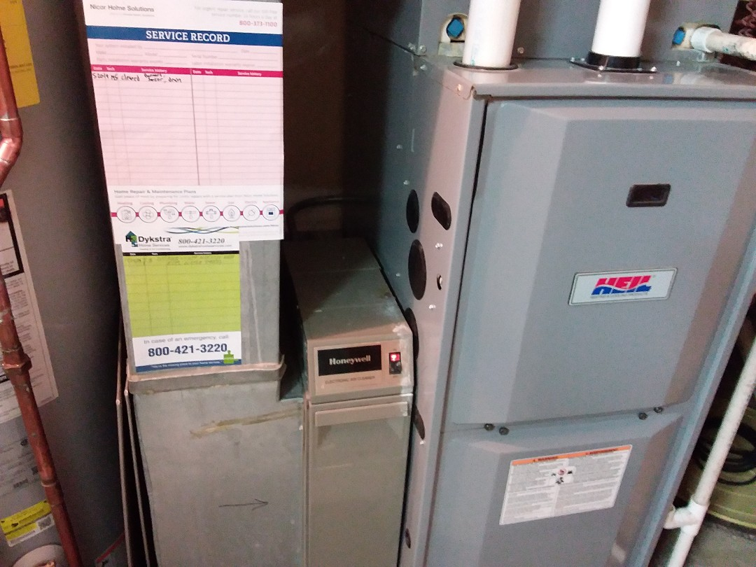 Schaumburg, IL - Furnace checked and cleaned