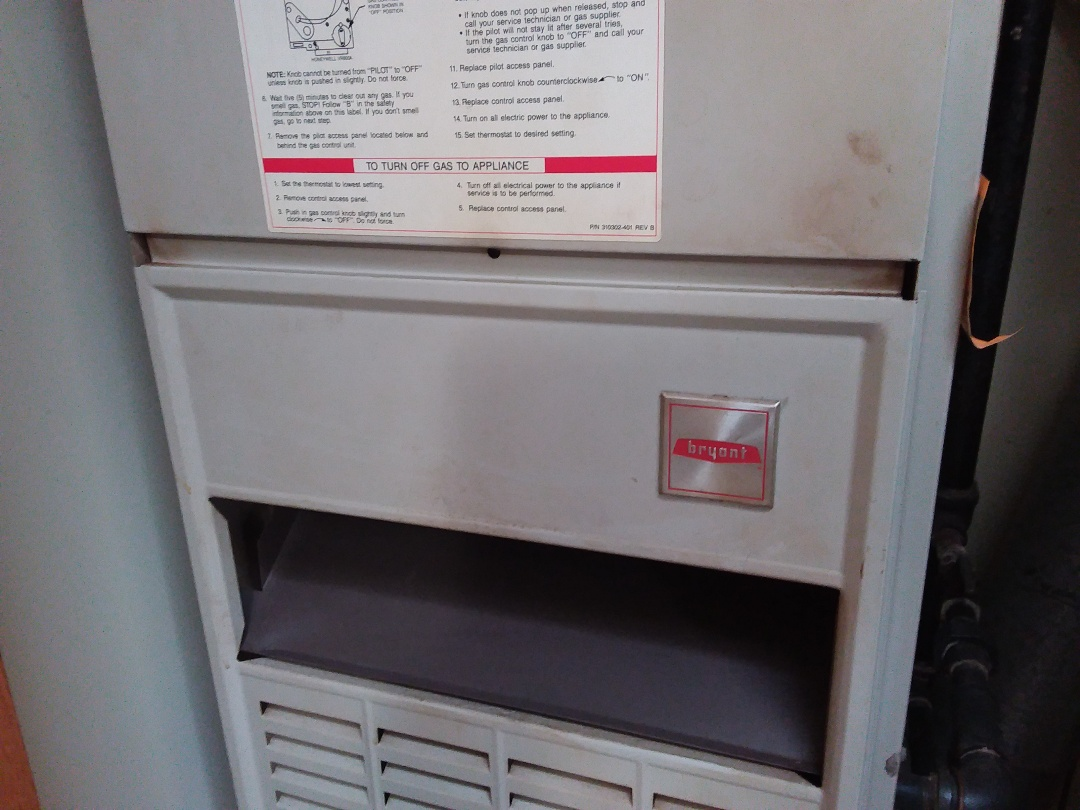 Elgin, IL - Cleaned and checked furnace