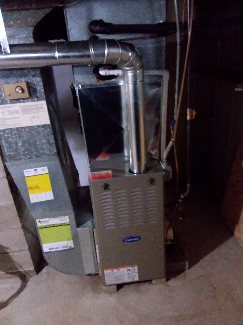 Lansing, IL - Install of a carrier furnace