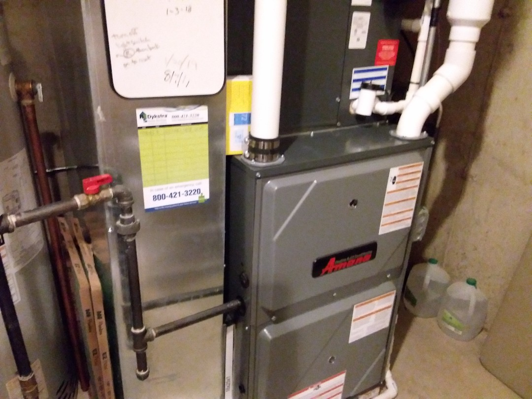Bartlett, IL - Cleaned and checked furnace
