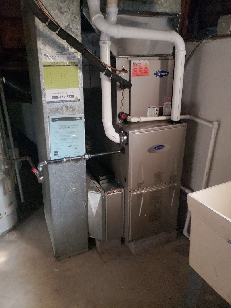 Orland Park, IL - Carrier furnace installation