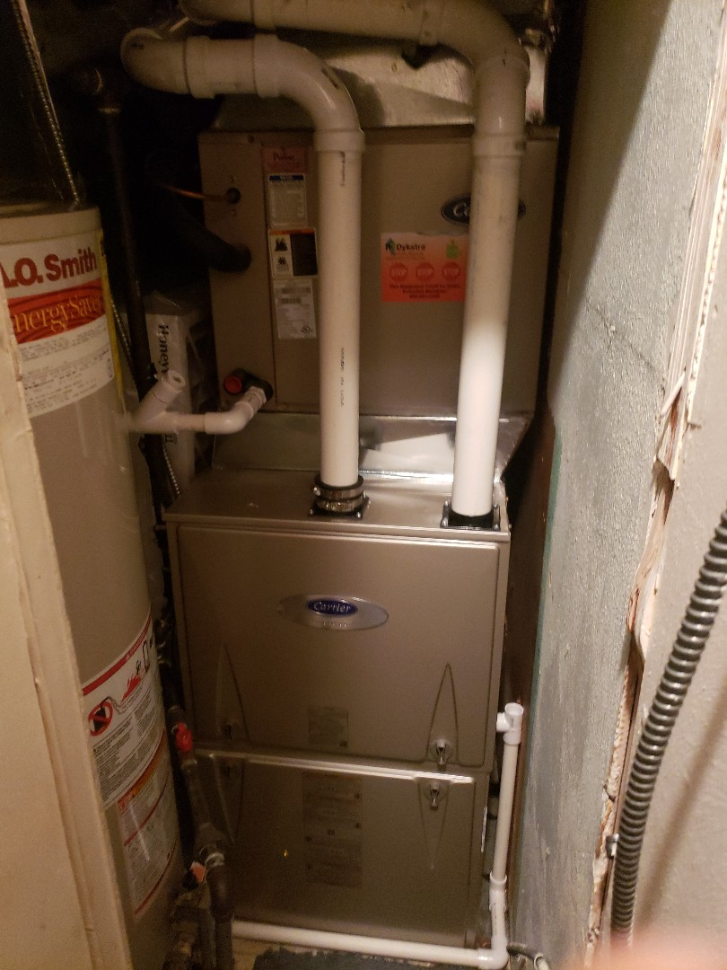 Palos Heights, IL - Carrier furnace installation