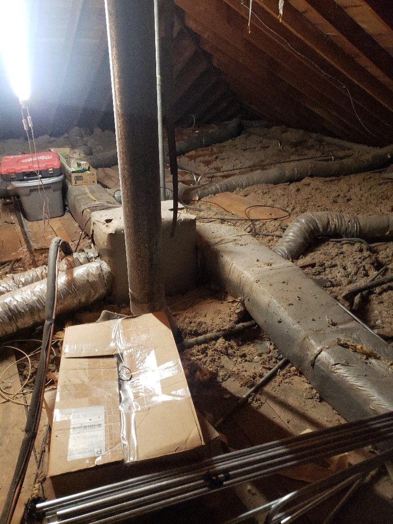 Palos Heights, IL - Duct insulation