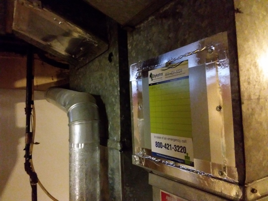 Franklin Park, IL - Cleaned and checked furnace and humidifier