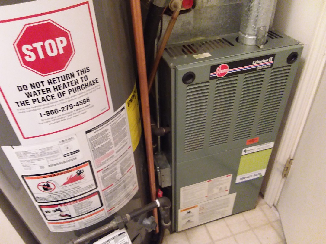 Roselle, IL - Cleaned and checked furnace