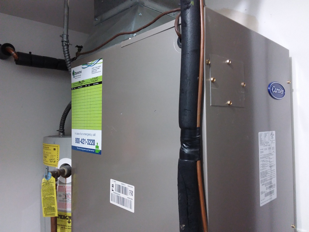 Northbrook, IL - Cleaned and checked furnace