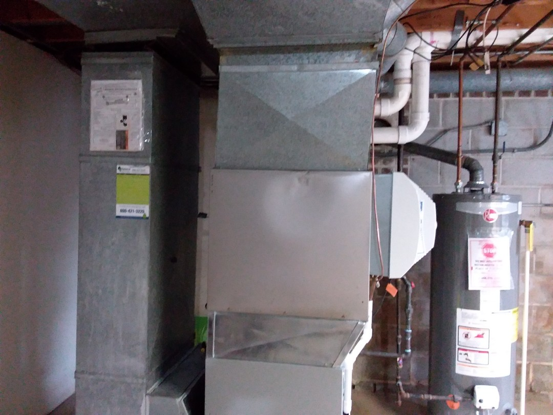 St. Charles, IL - Cleaned and checked furnace