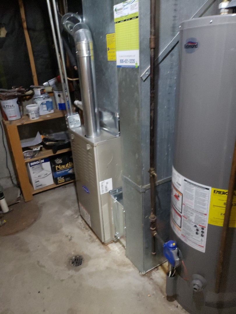 Crestwood, IL - Carrier furnace installation replacing carrier furnace