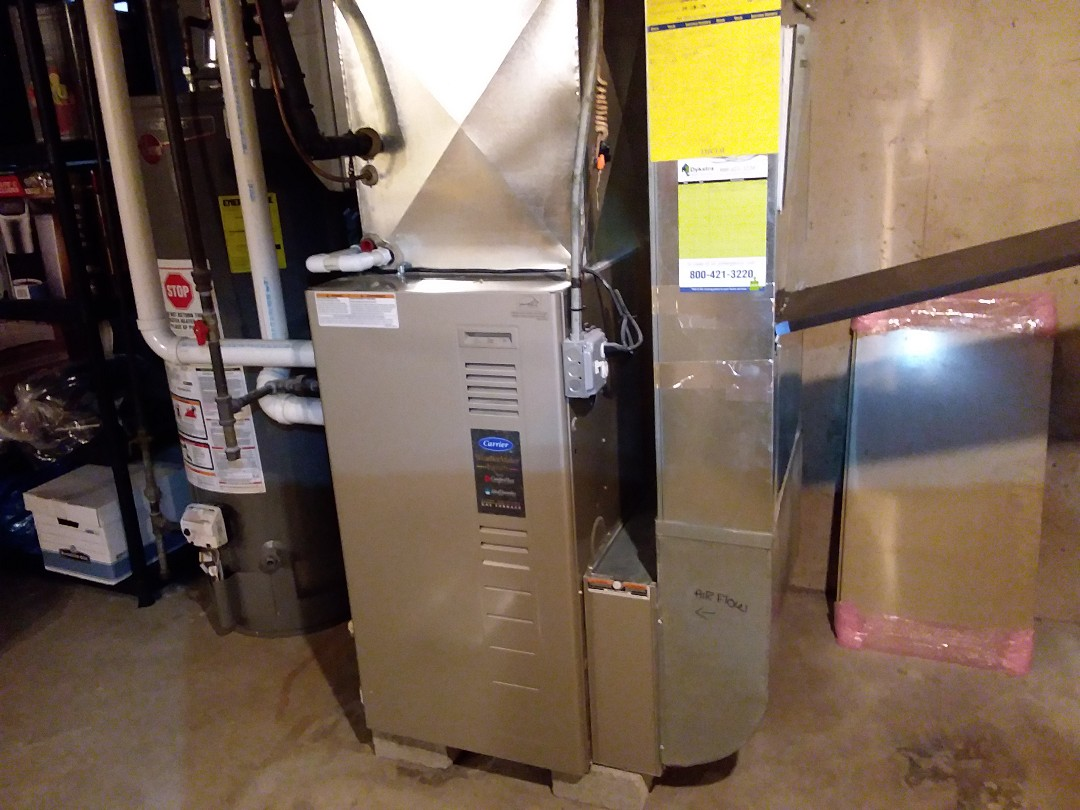 Palos Heights, IL - Furnace inspection
