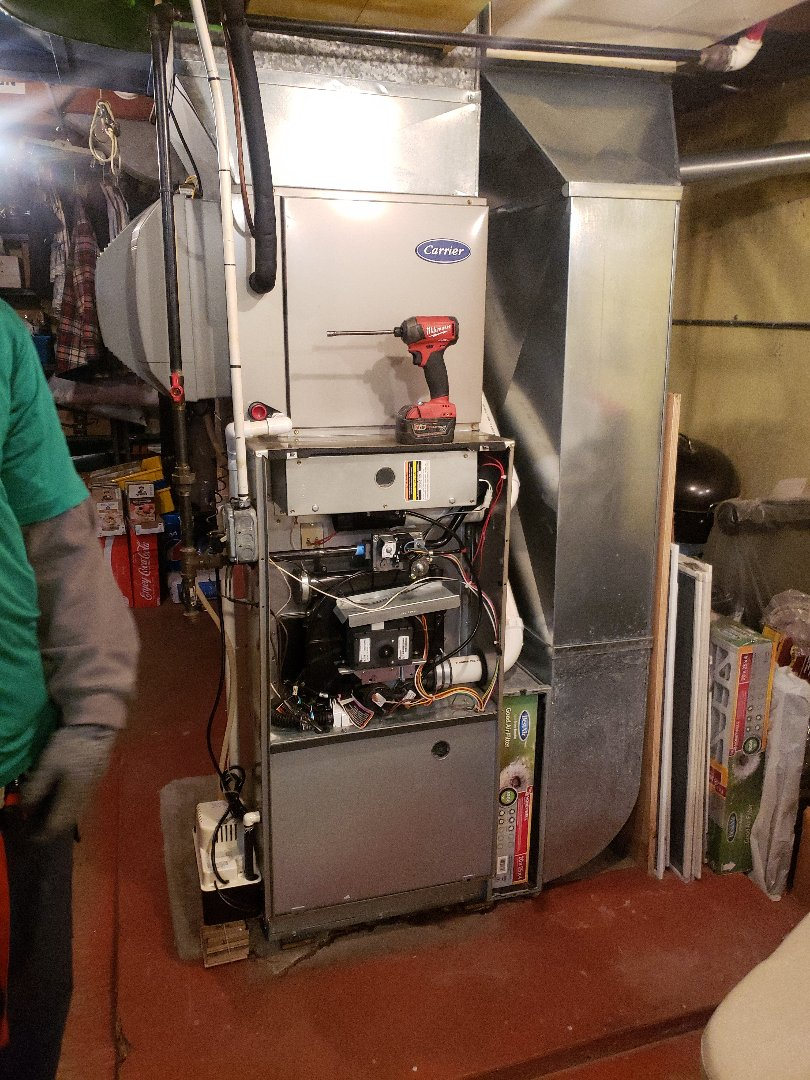 Chicago, IL - Carrier furnace installation replacing carrier furnace