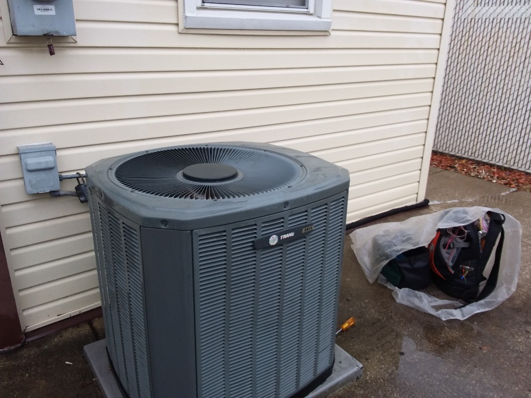 Stone Park, IL - Cleaned and checked a/c