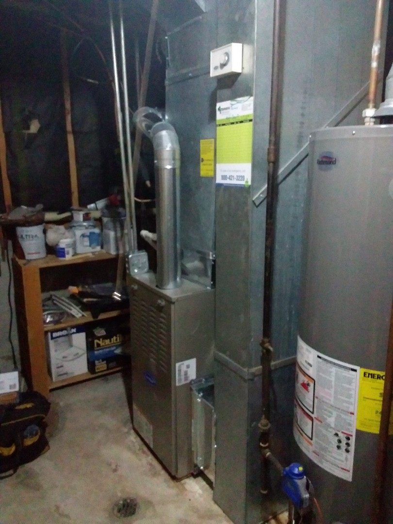 Crestwood, IL - Carrier condenser & coil replacement