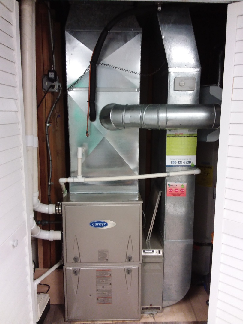 Mokena, IL - New carrier performance furnace installation