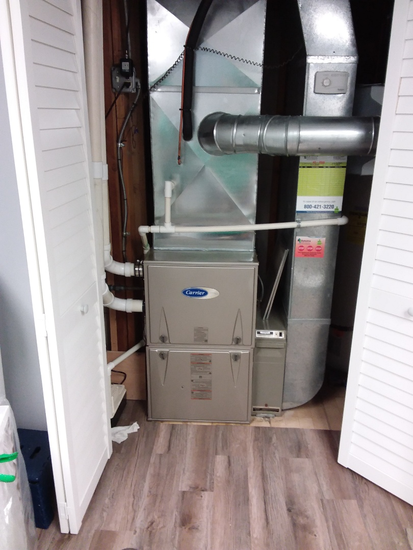 Mokena, IL - Install of a carrier furnace
