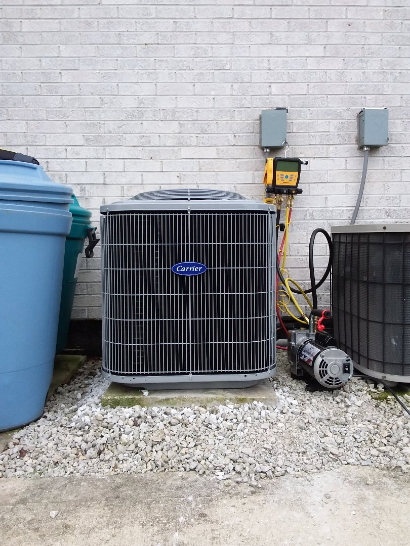 Tinley Park, IL - New carrier ac and coil installation