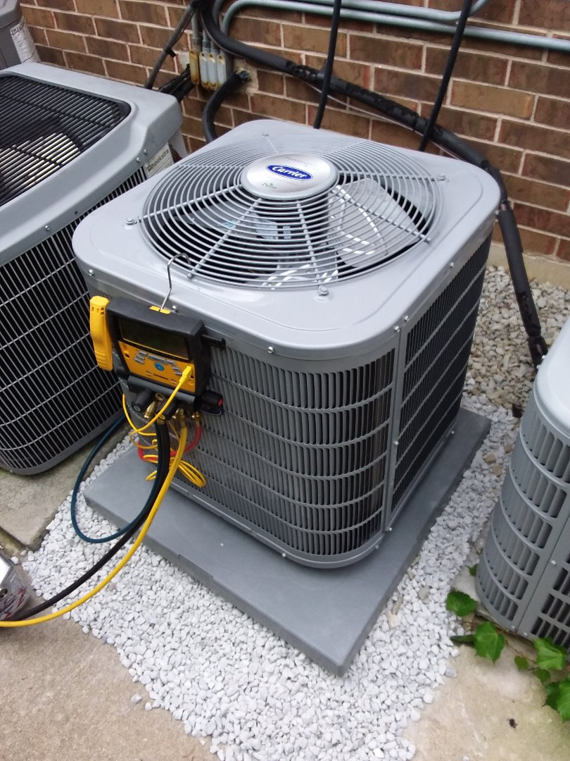 Palos Heights, IL - Install of a ac coil