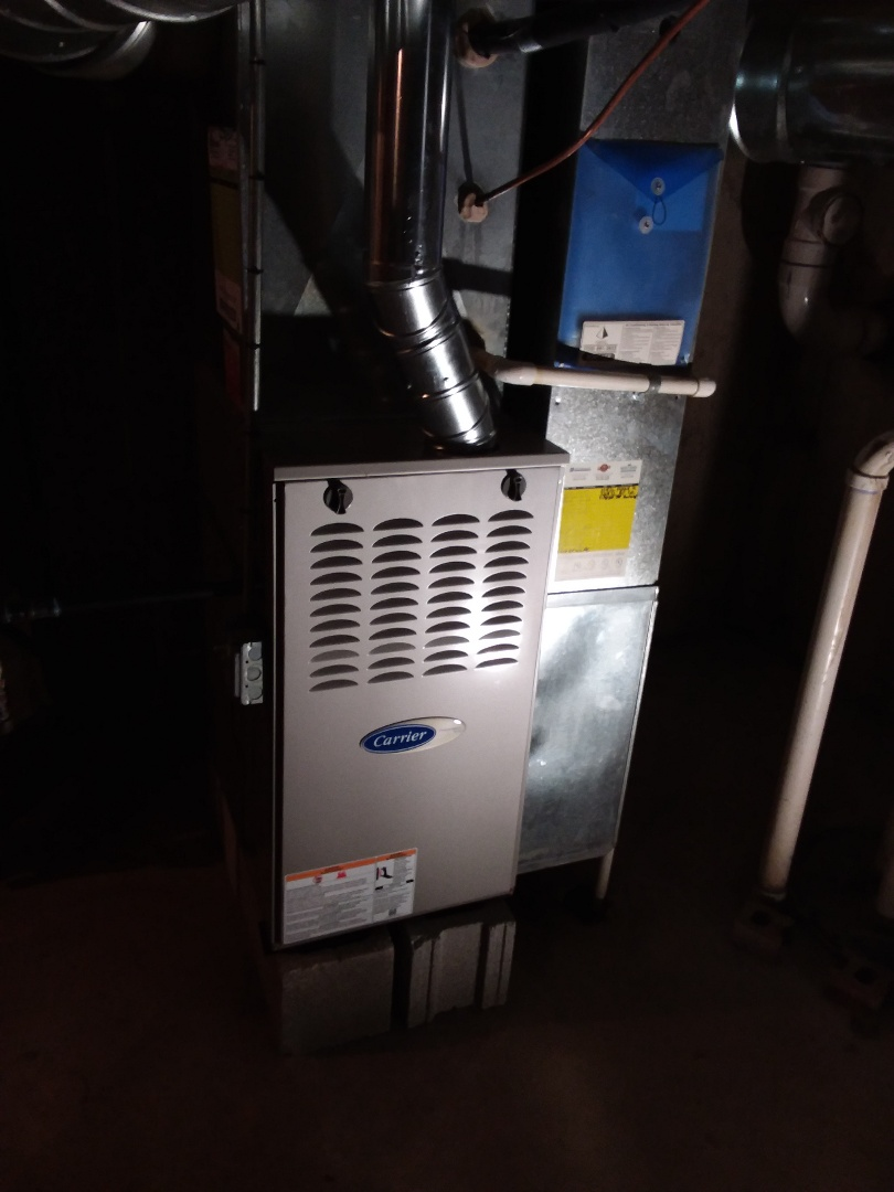 Robbins, IL - Install of a carrier furnace