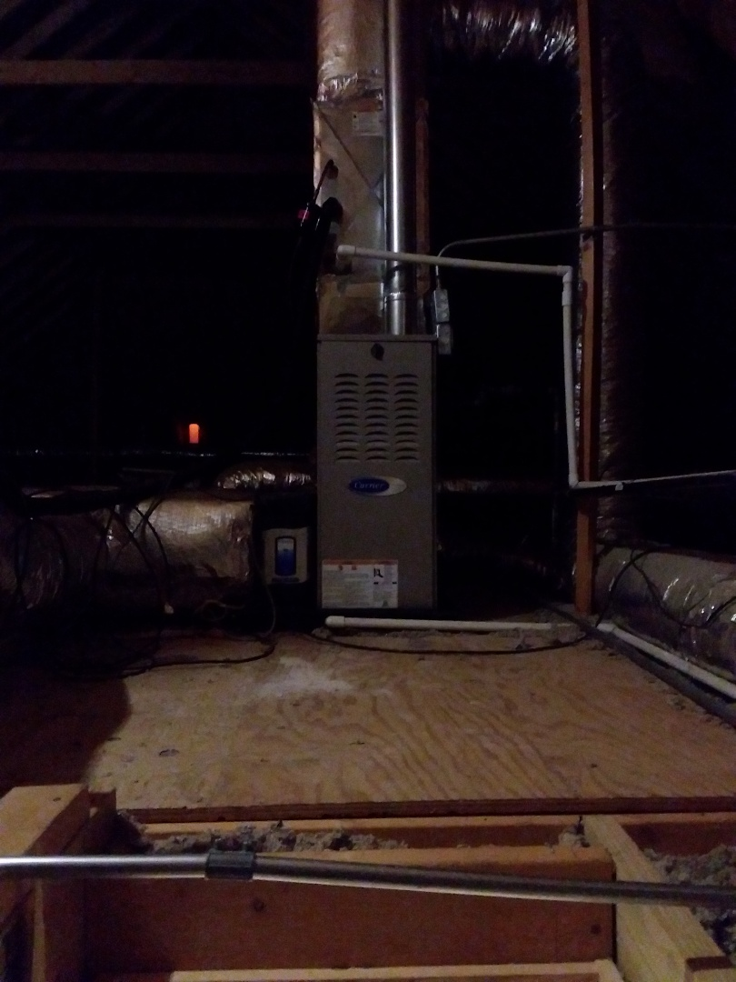 Frankfort, IL - Install of a carrier furnace