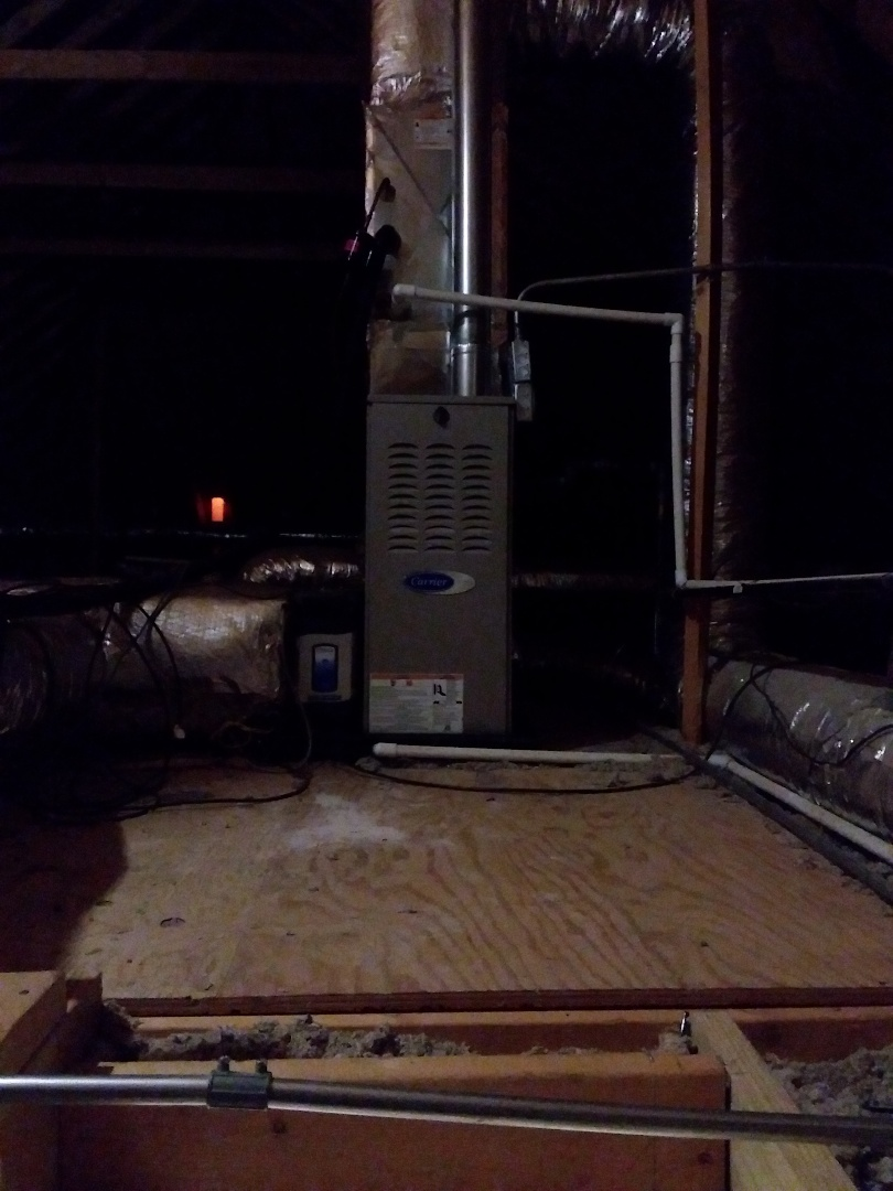 Frankfort, IL - New carrier furnace installation
