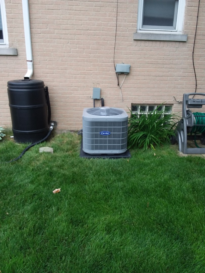 Westchester, IL - Carrier coil/condenser  replacement