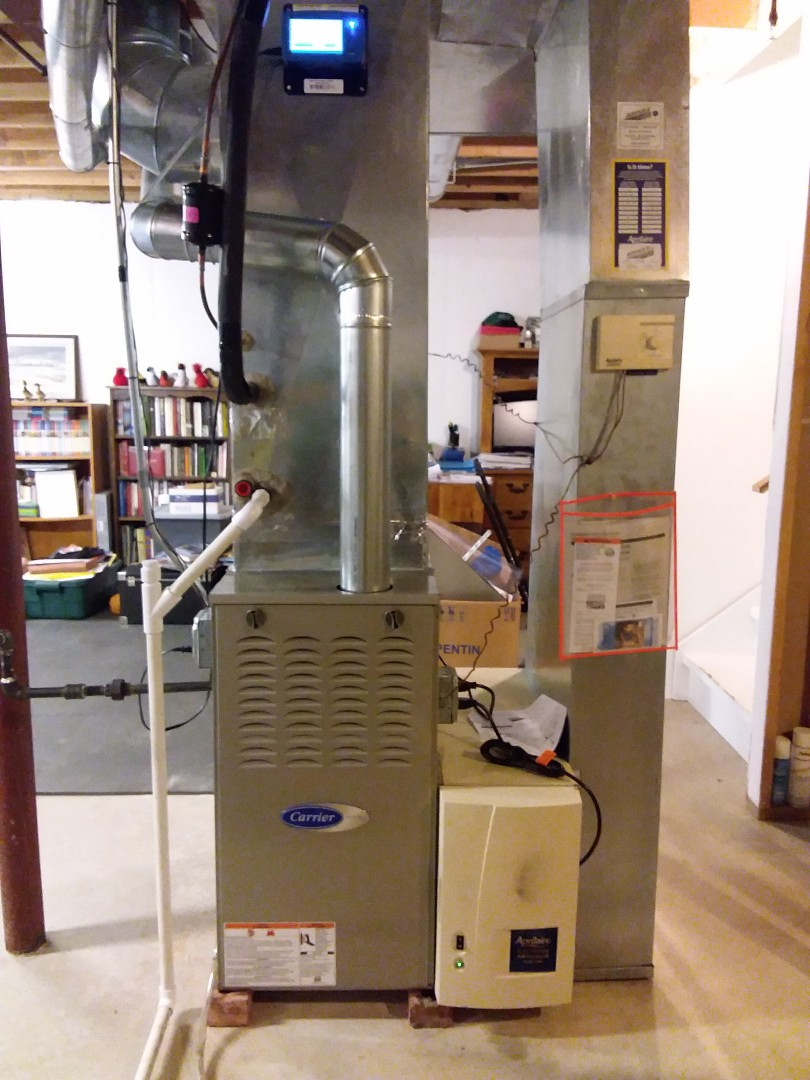 Tinley Park, IL - New carrier furnace, ac &  oil installation