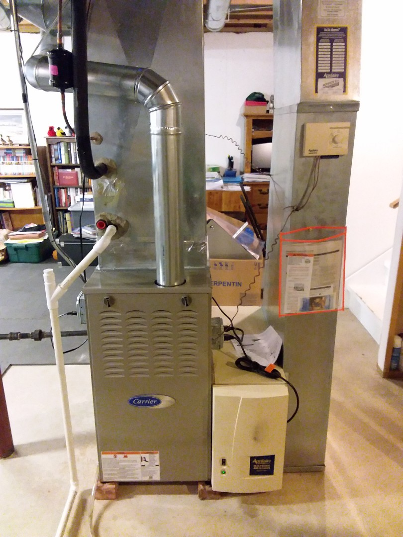 Tinley Park, IL - New ac coil & furnace install