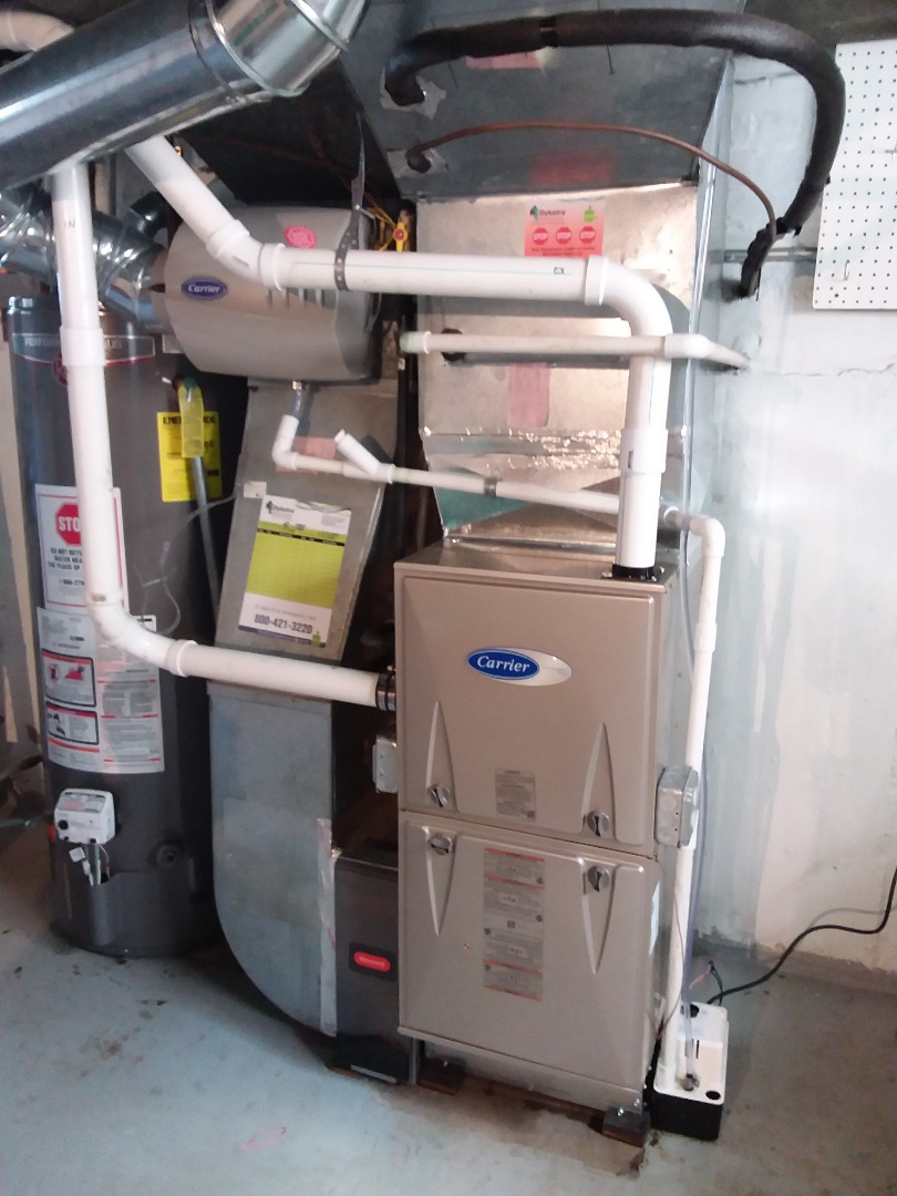 Chicago, IL -  We carrier furnace install