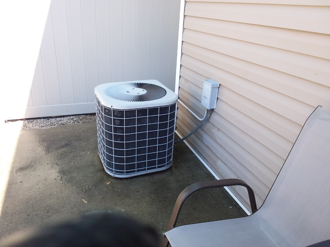 Forest Park, IL - Cleaned and checked a/c